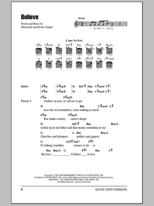 I Want Love By Elton John Bernie Taupin Hal Leonard Prima Music