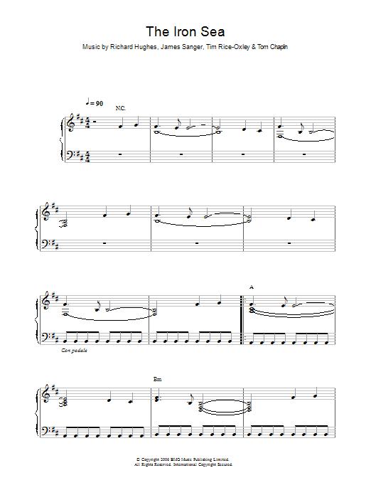 The Iron Sea Sheet Music