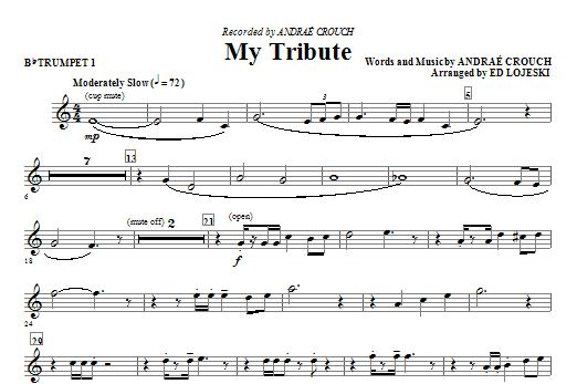 My Tribute - Bb Trumpet 1 Sheet Music