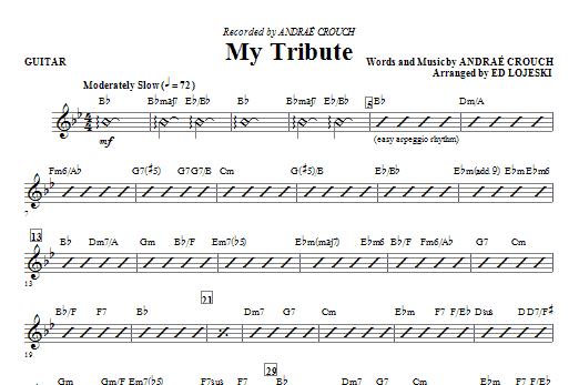 My Tribute - Guitar Sheet Music