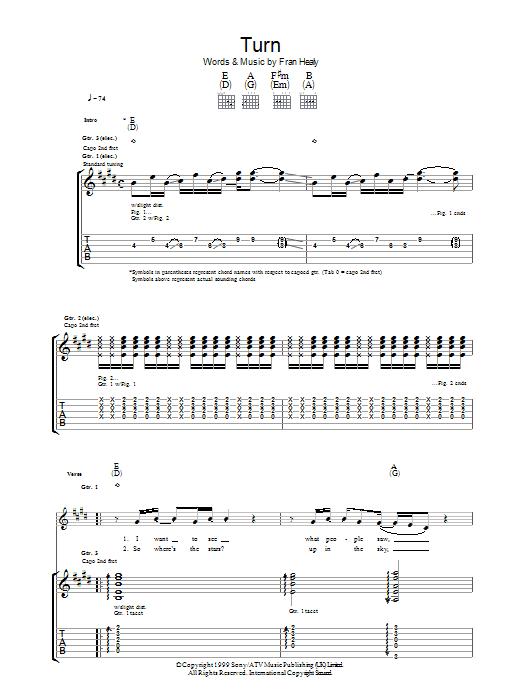 Turn (Guitar Tab)