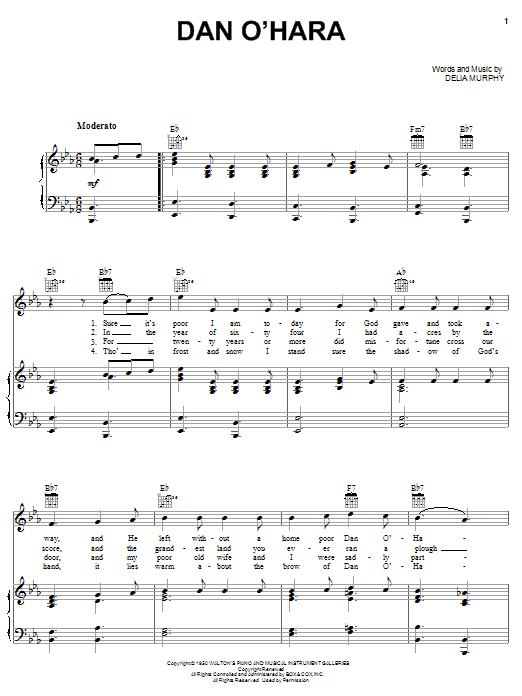 Dan O'Hara (Piano, Vocal & Guitar (Right-Hand Melody))