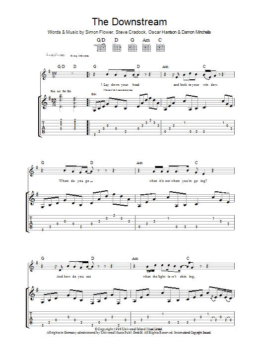 The Downstream Sheet Music