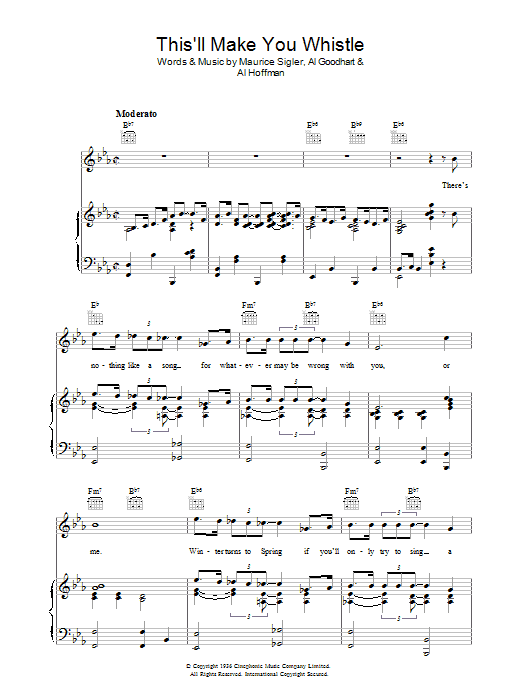 This'll Make You Whistle Sheet Music