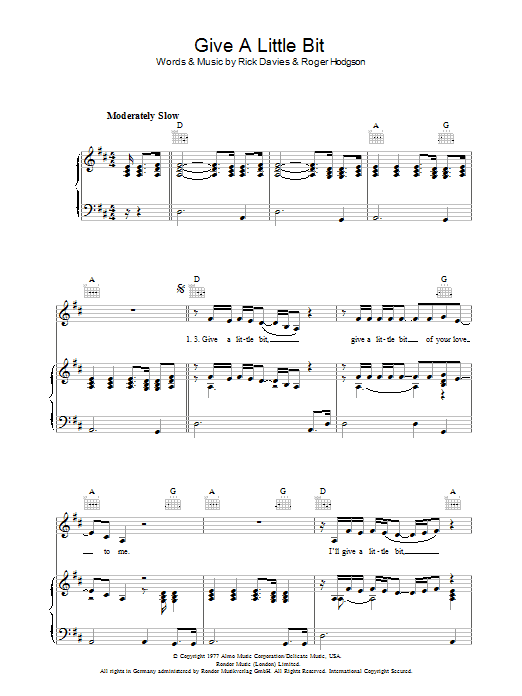 how to play give a little bit on guitar