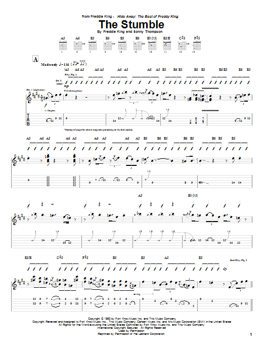 The Stumble Sheet Music
