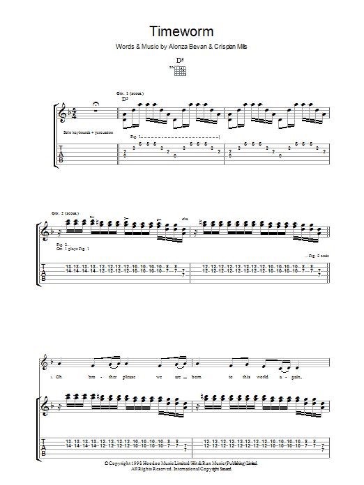 Timeworm Sheet Music