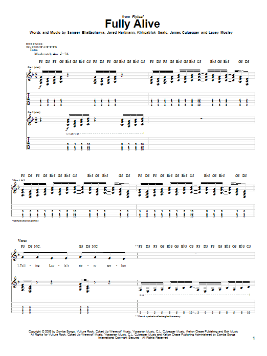 Fully Alive Sheet Music