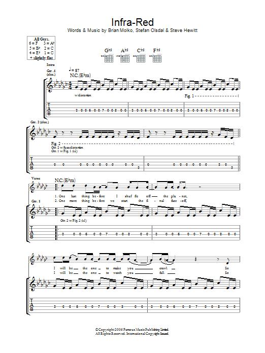 Infra-Red Sheet Music