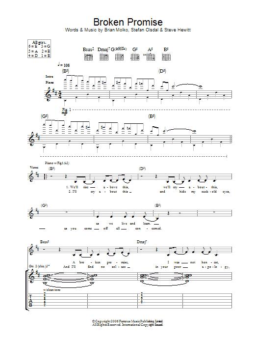 Broken Promise (Guitar Tab)