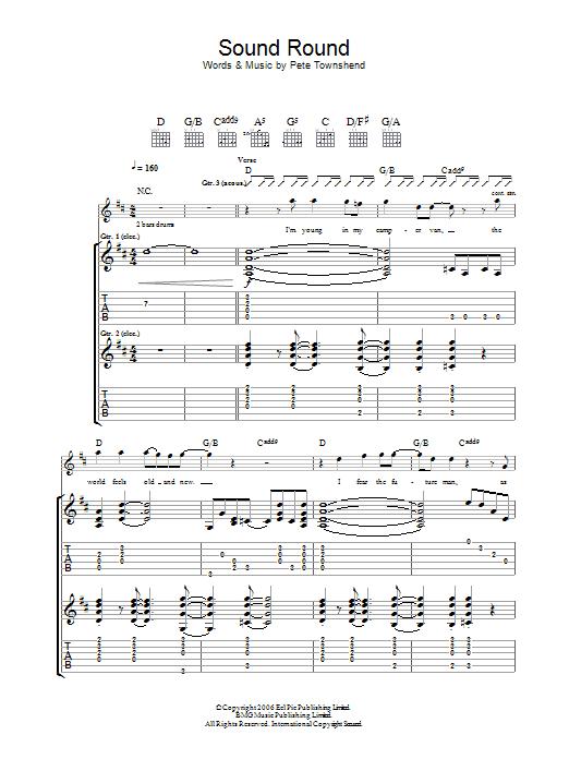 Sound Round Sheet Music