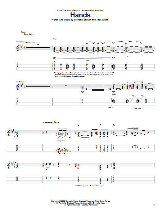 Hands Sheet Music