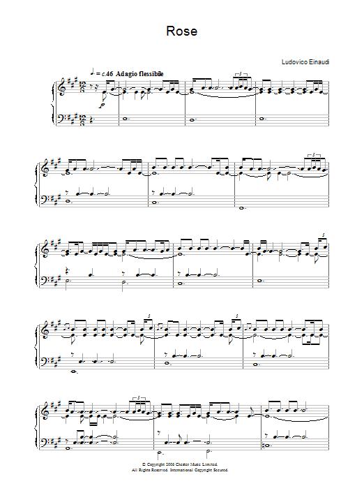 Rose (Piano Solo)