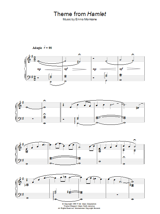 Theme from Hamlet (Piano Solo)
