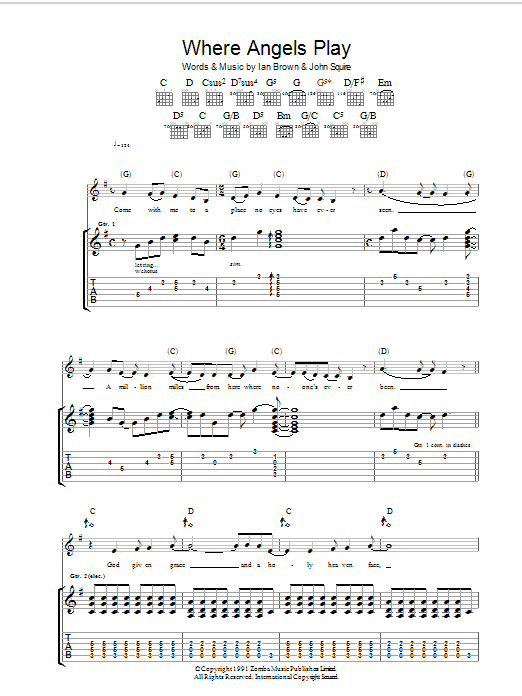 Where Angels Play Sheet Music