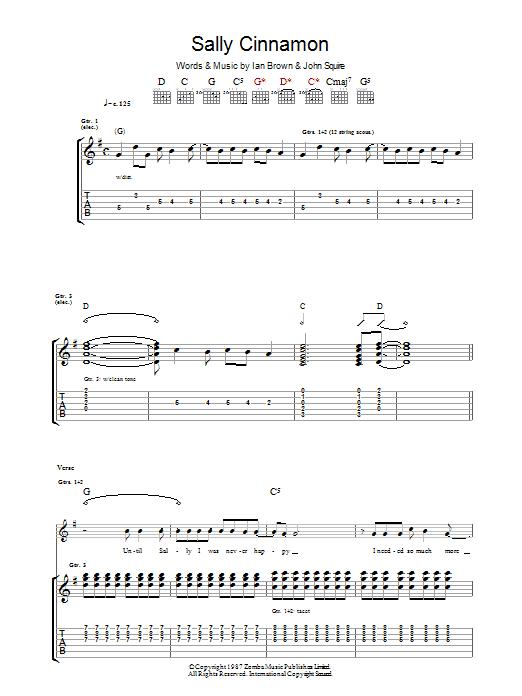 Sally Cinnamon Sheet Music
