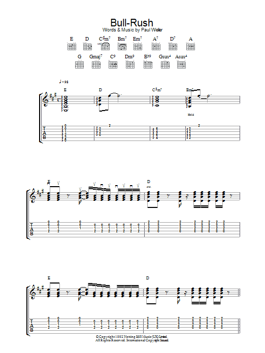 Bull-Rush (Guitar Tab)
