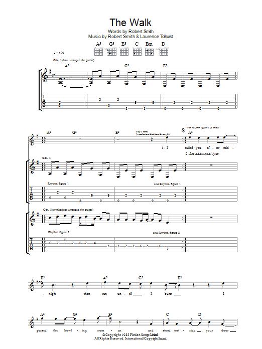 The Walk (Guitar Tab)