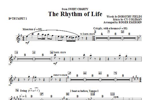 The Rhythm Of Life - Bb Trumpet 1 Sheet Music