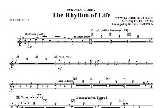 The Rhythm Of Life - Bb Trumpet 2 Sheet Music