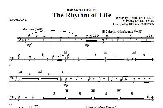 The Rhythm Of Life - Trombone Sheet Music