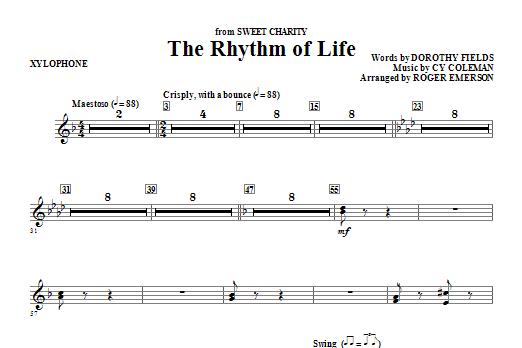 The Rhythm Of Life - Xylophone (Choir Instrumental Pak)