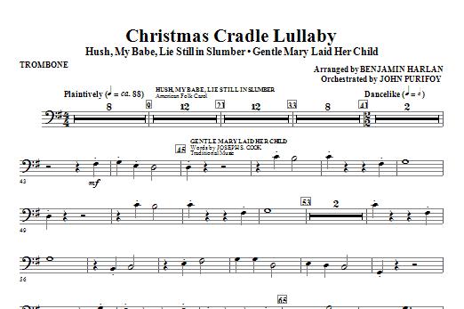 Christmas Cradle Lullaby - Trombone (Choir Instrumental Pak)