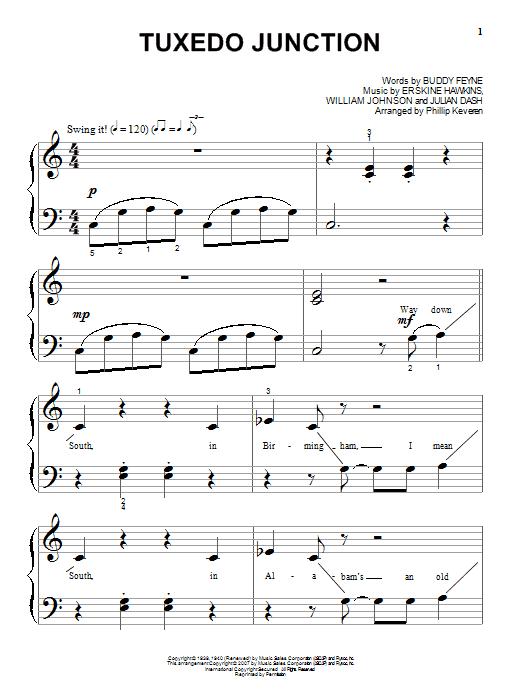 Tuxedo Junction Sheet Music
