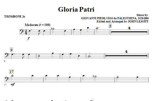 Gloria Patri - Trombone 2a (Choir Instrumental Pak)