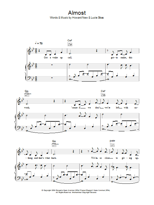 Almost Sheet Music