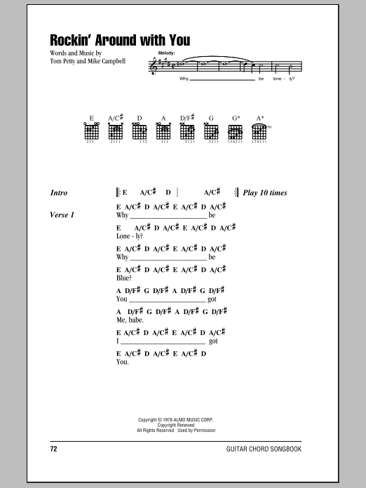 Rockin' Around With You Sheet Music