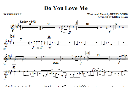 Do You Love Me - Bb Trumpet 2 Sheet Music
