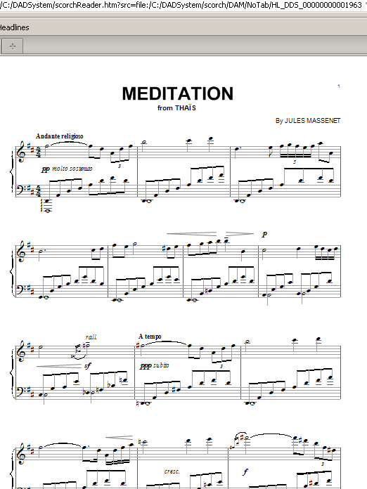 Meditation (Piano Solo)