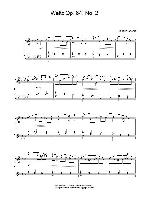 Waltz Op. 64, No. 2 Sheet Music