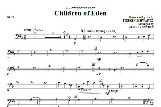 Children of Eden - String Bass (Choir Instrumental Pak)