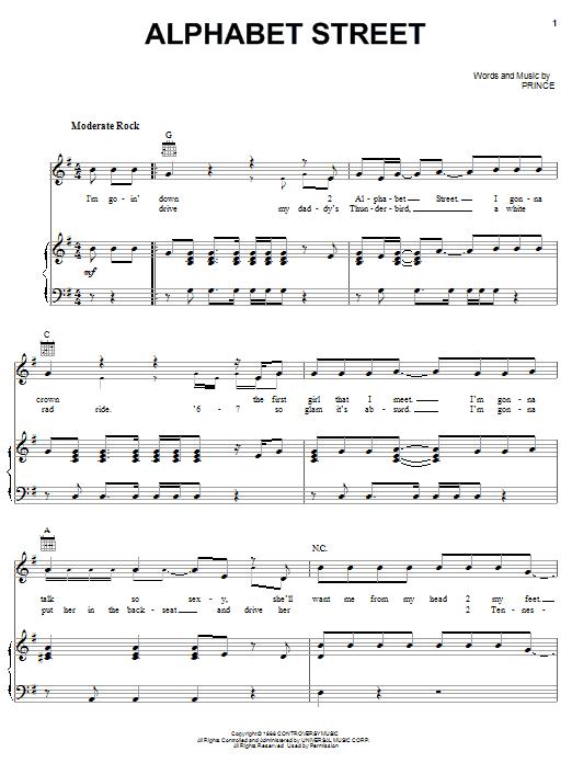 Prince - Alphabet St. Lyrics - lyricsera.com