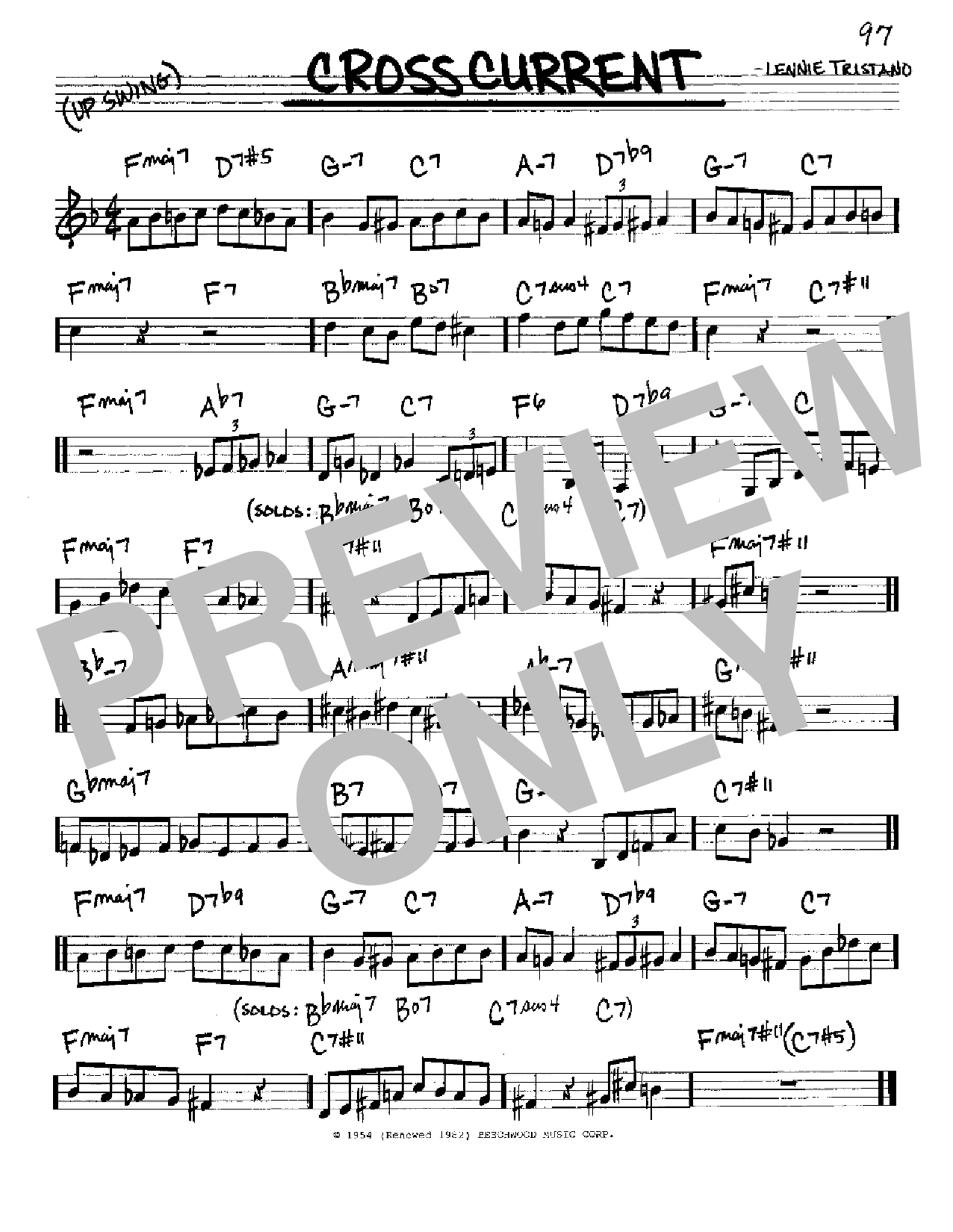 Crosscurrent Sheet Music