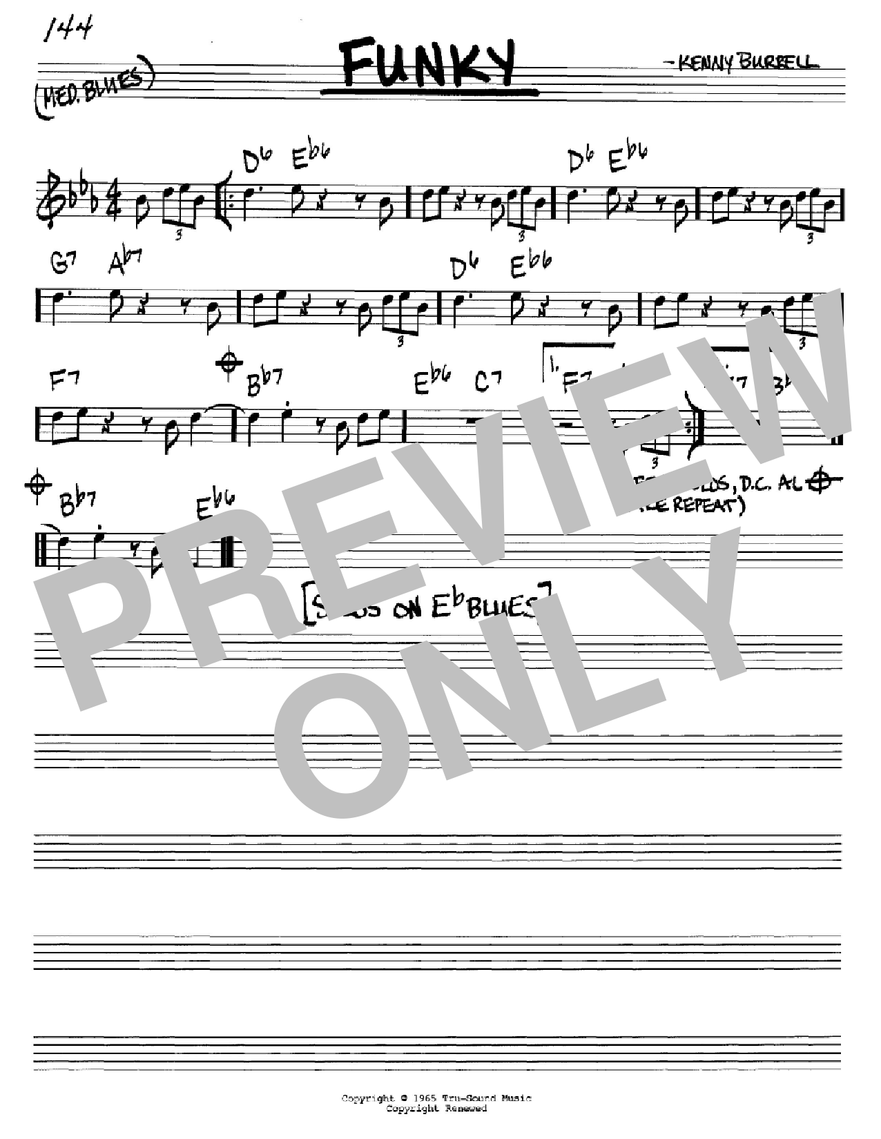 Funky Sheet Music