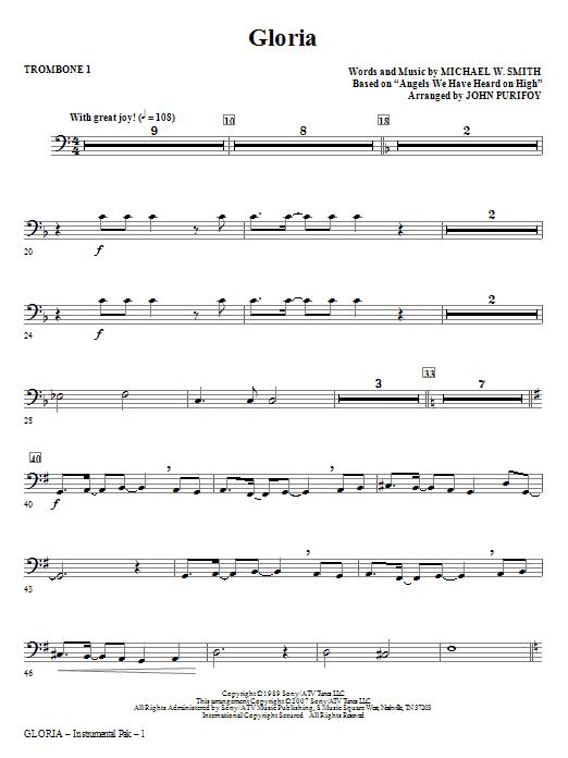 Gloria - Trombone 1 Sheet Music