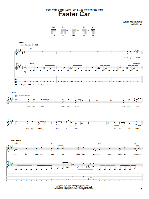 how to read guitar tabs faster