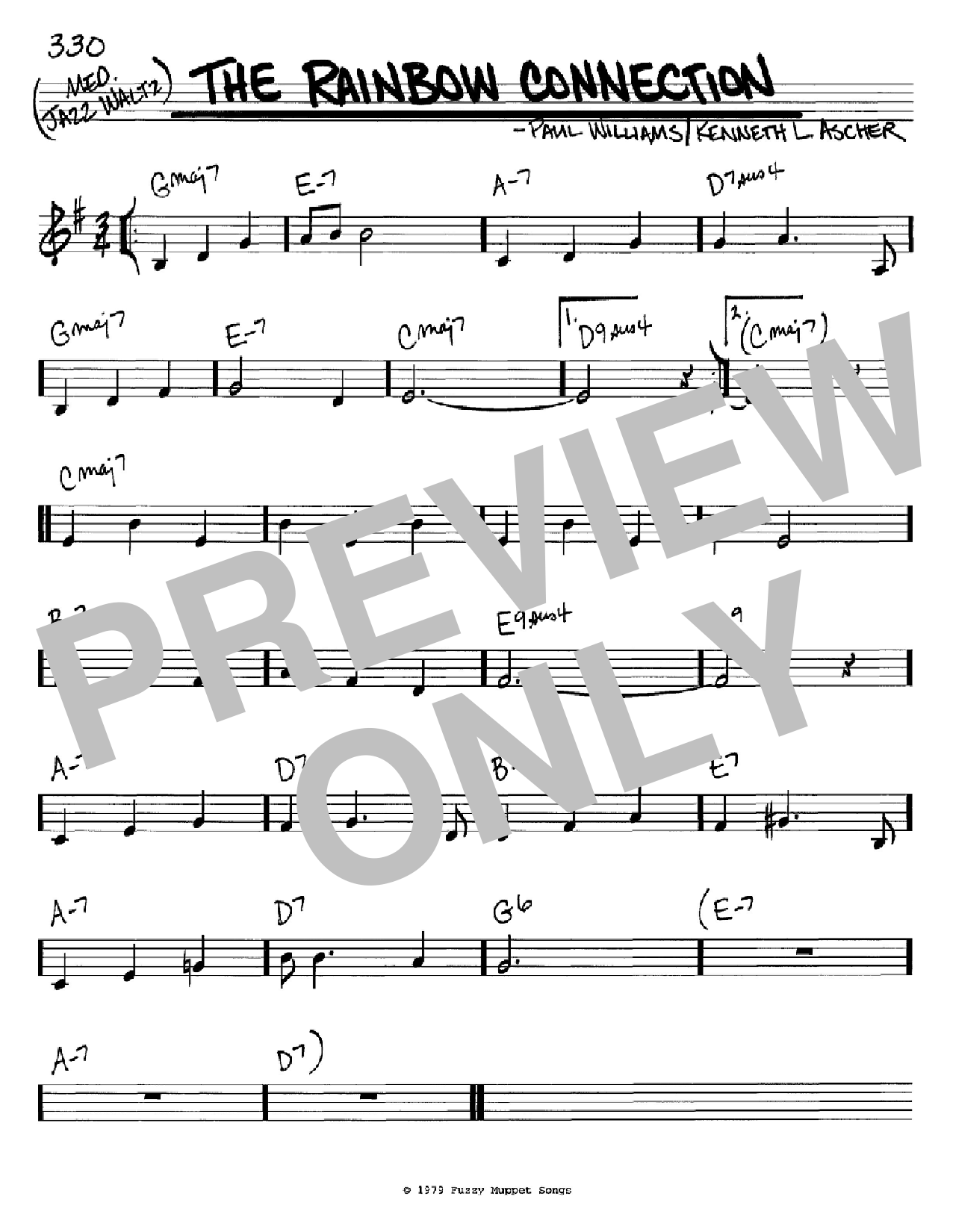 The Rainbow Connection Sheet Music