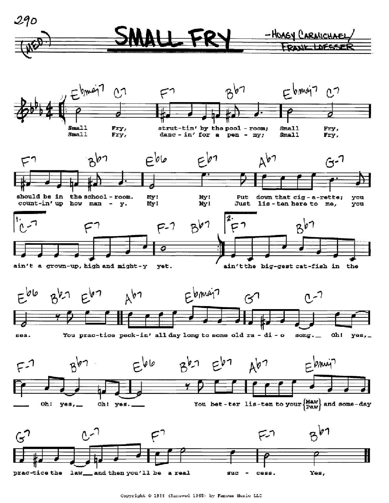 Small Fry Sheet Music