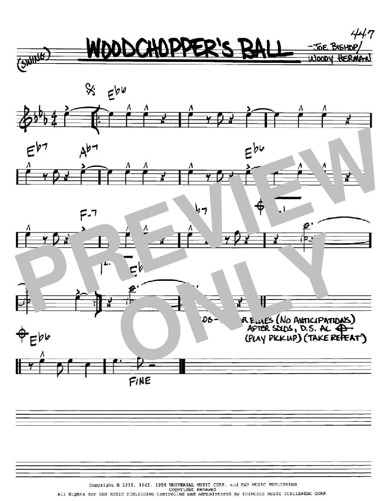 Woodchopper's Ball Sheet Music