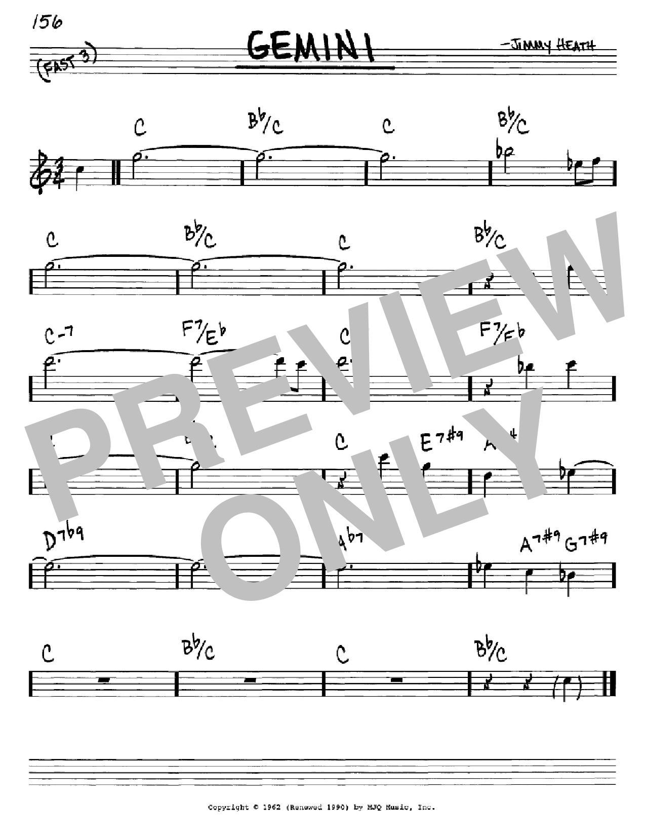 Gemini Sheet Music