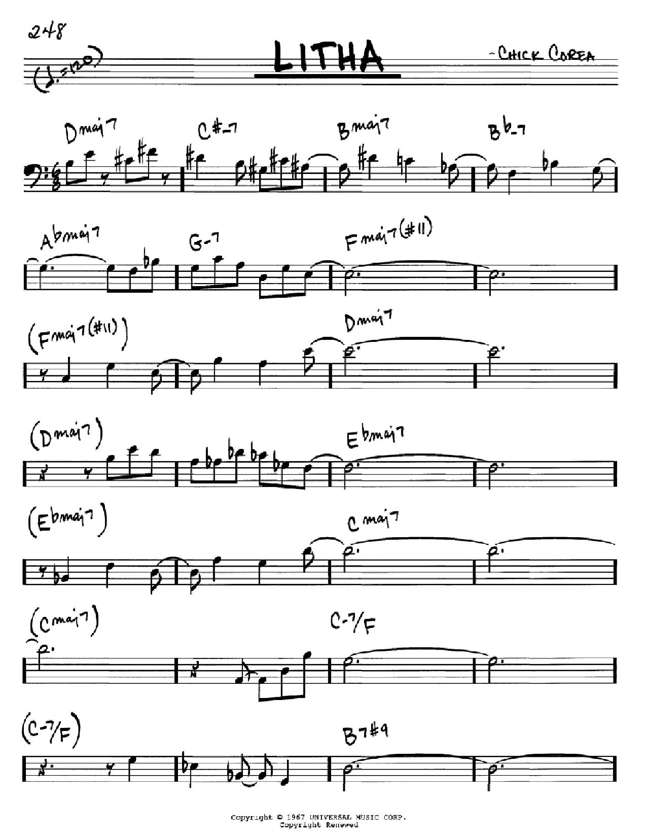 Litha Sheet Music