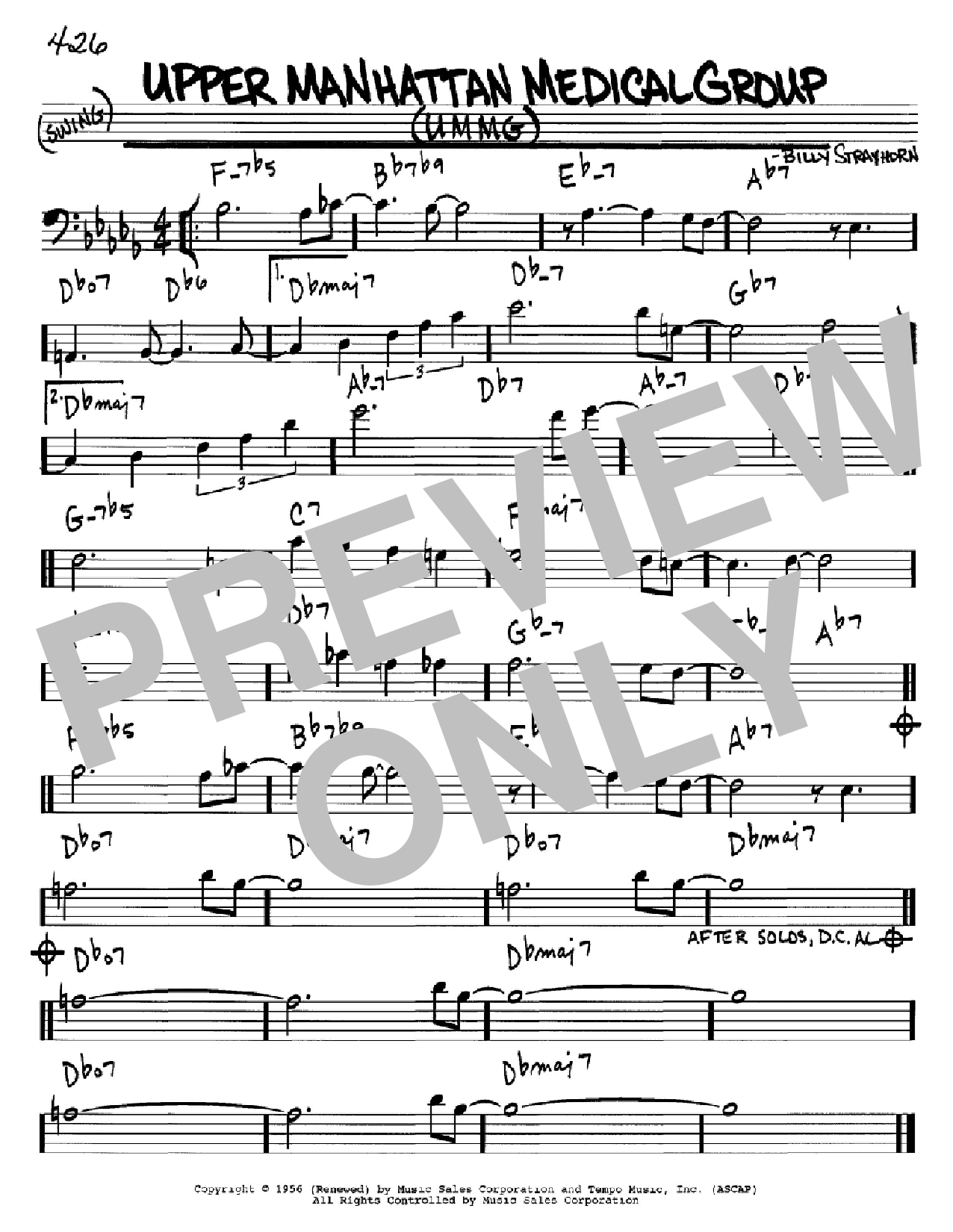 Upper Manhattan Medical Group (UMMG) Sheet Music