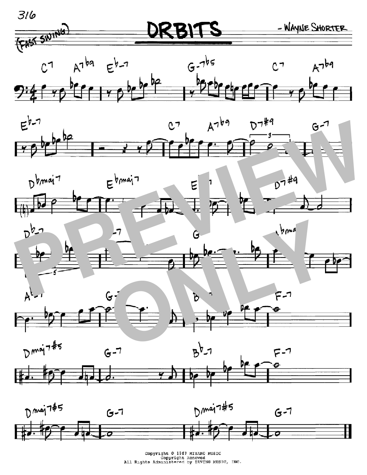 Orbits Sheet Music