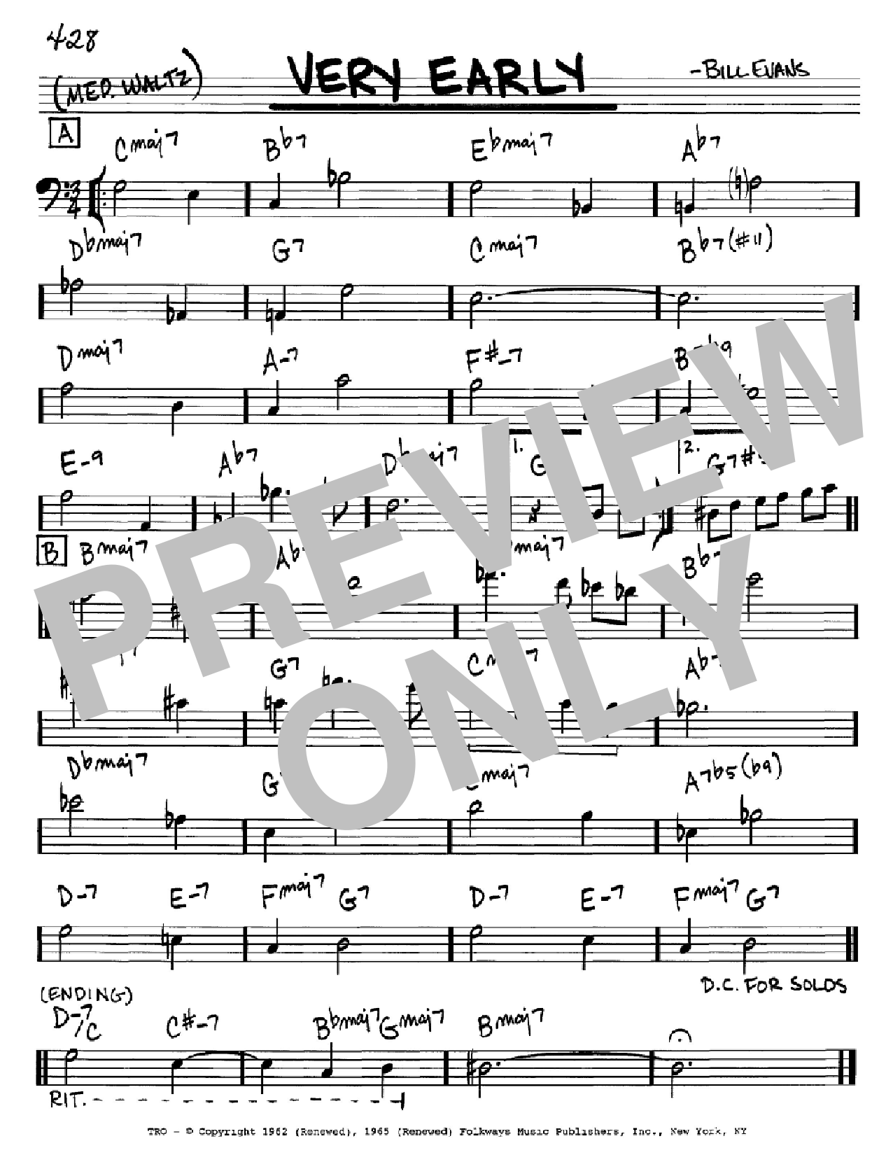 Very Early Sheet Music