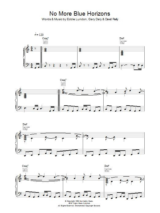 No More Blue Horizons Sheet Music