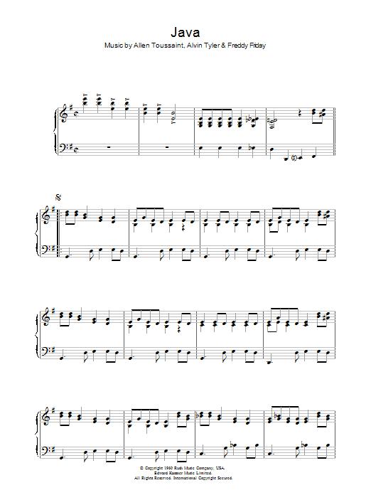 Java (Piano, Vocal & Guitar)